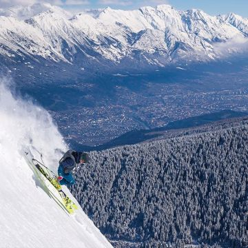Freeride city Innsbruck: The perfect mix of city and nature. ? ? Take part in our raffle and win...